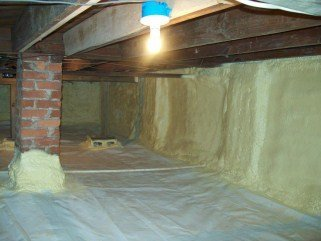 Encapsulated Crawlspace Energy Conservation Solutions